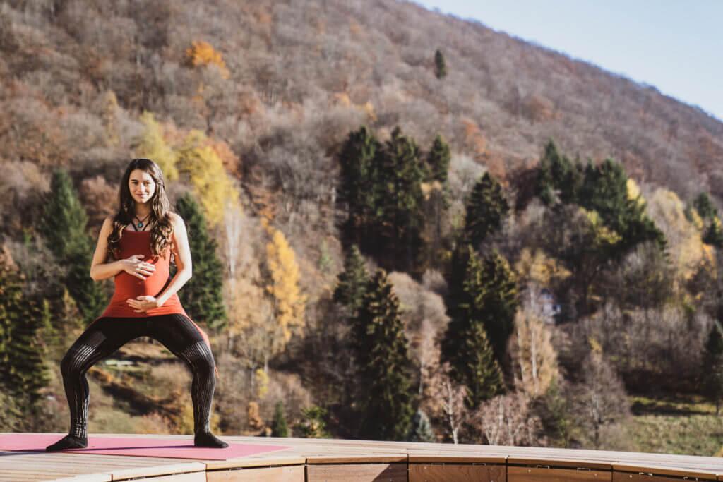 Yoga Suhl Yogalehrerin Jasmin Gapp